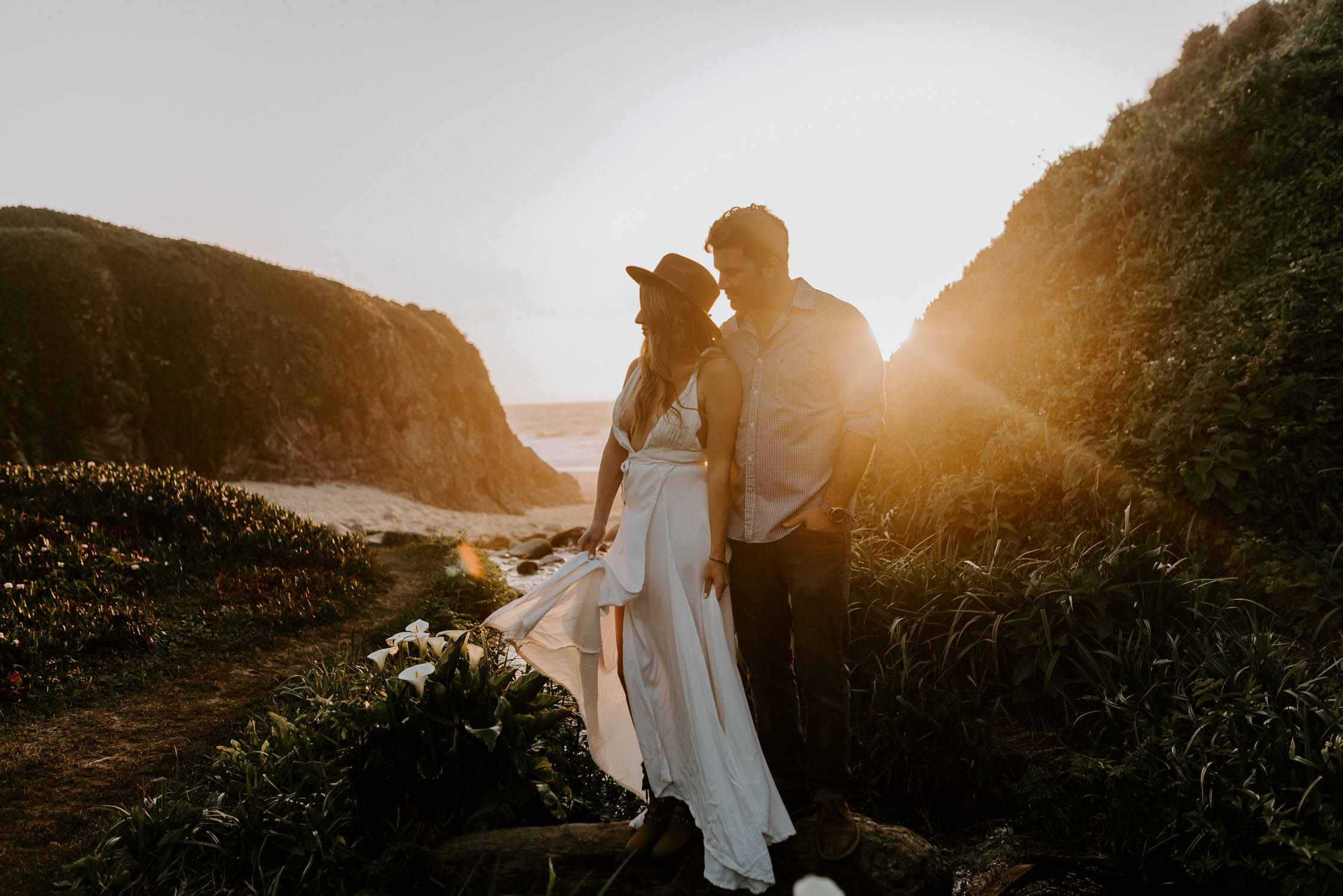 Big Sur California Couple Session