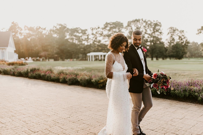 Boho Wedding, Boho Wedding Dress, New Jersey Wedding Photographer, Running Deer Golf Club