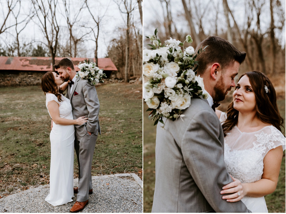 40 Winter Elopement Adventurous Elopement Photographer New Jersey Wedding Photographer Intimate Wedding