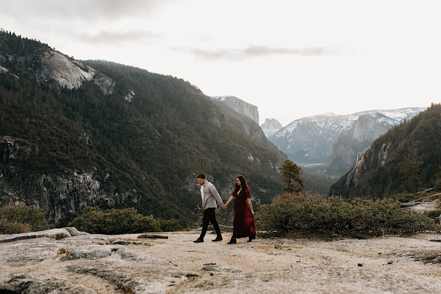 Yosemite National Park Enagement Session California Wedding Photographer 10