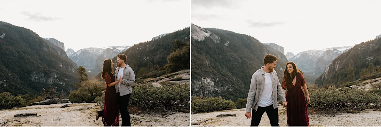 Yosemite National Park Enagement Session California Wedding Photographer 14