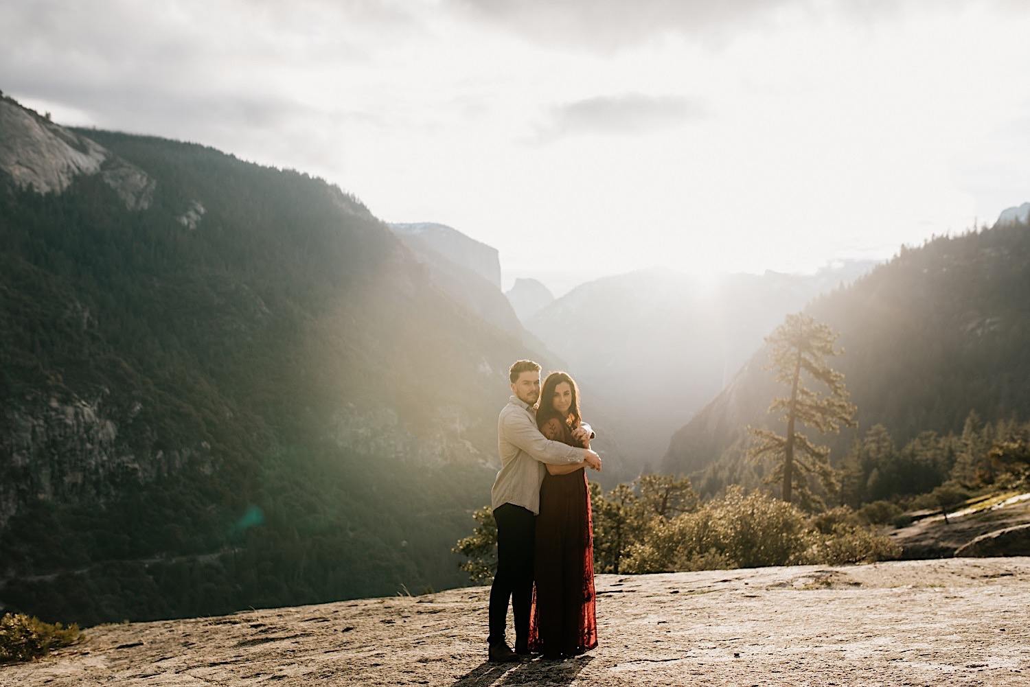 Yosemite National Park Enagement Session California Wedding Photographer 18