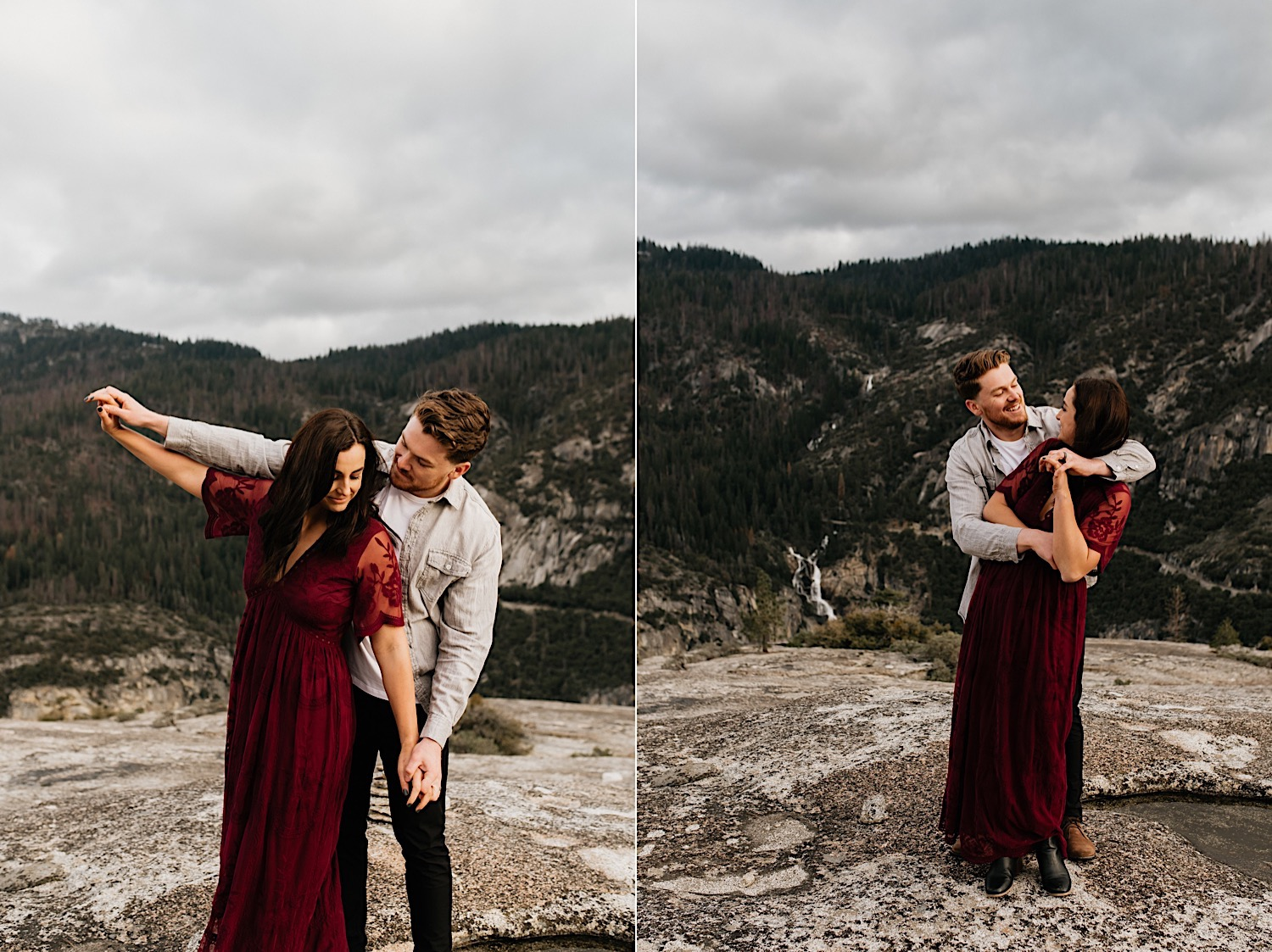 Yosemite National Park Enagement Session California Wedding Photographer 26