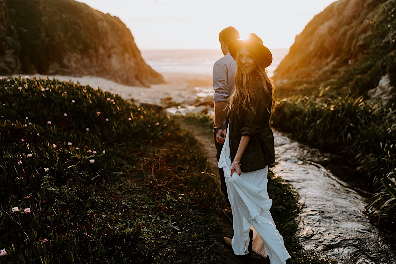Monterey Wedding Photographer California Coast Enagement Session 13