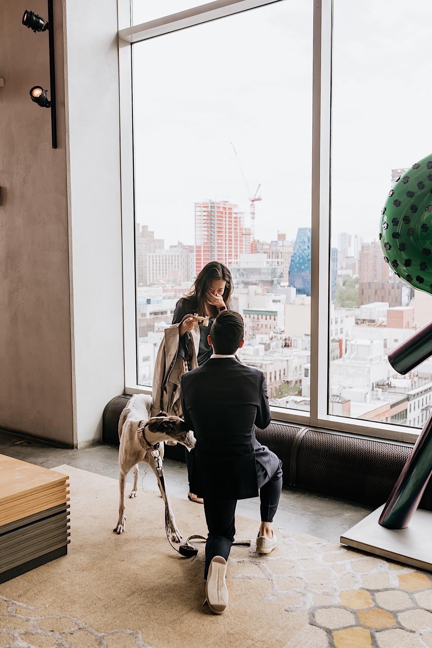NYC Proposal NYC Wedding Photographer 37