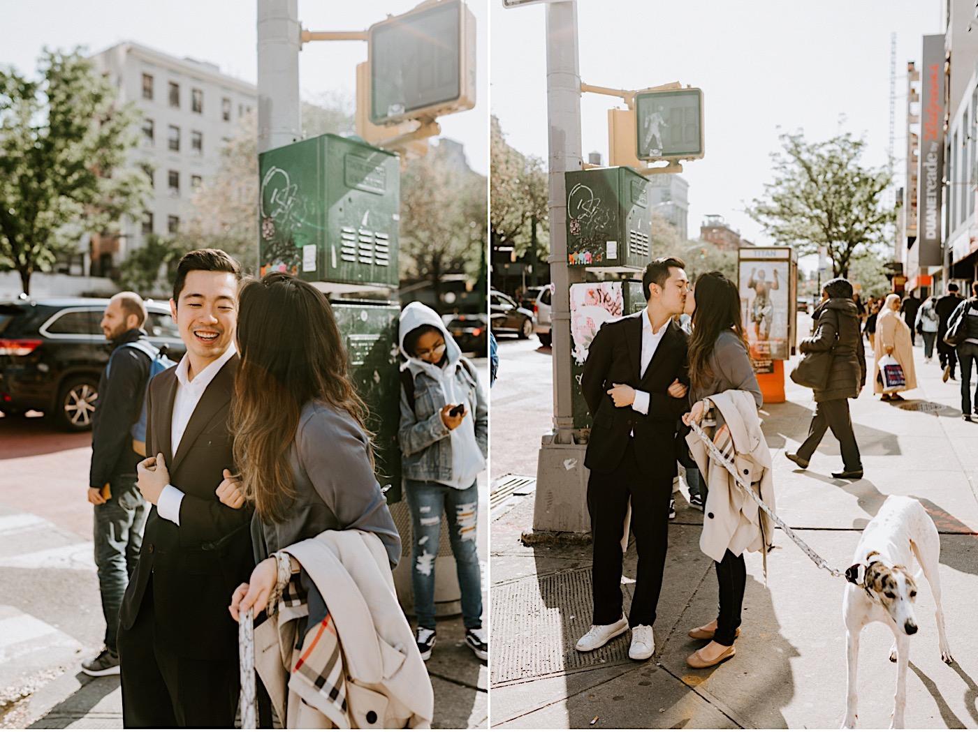 New York City Proposal NYC Wedding Photographer NYC Engagement Photos 12
