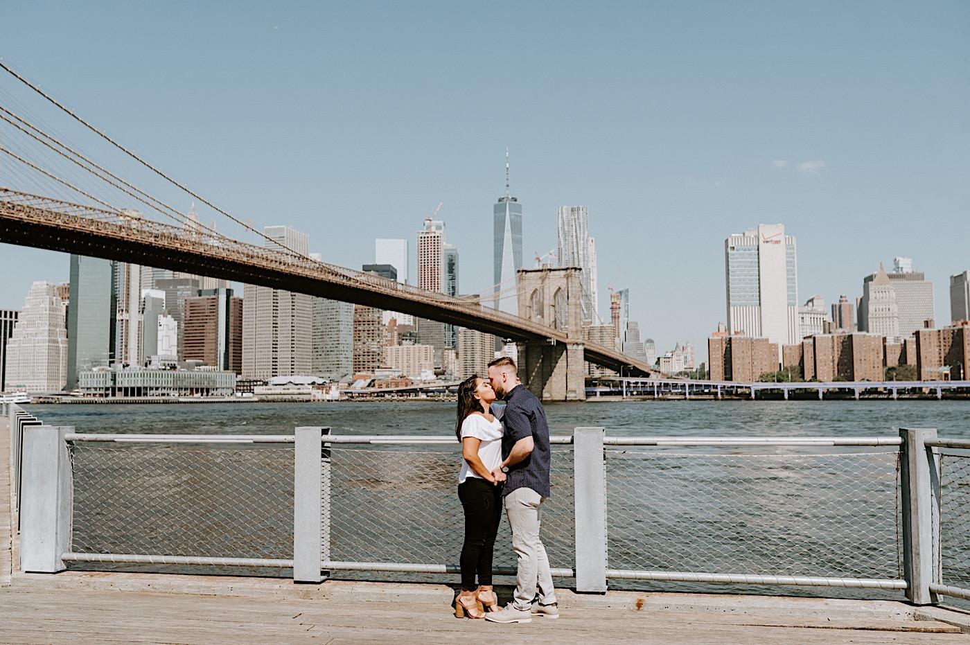 Dumbo Brooklyn Proposal Brooklyn Engagement Photos Brooklyn Wedding Photographer 003