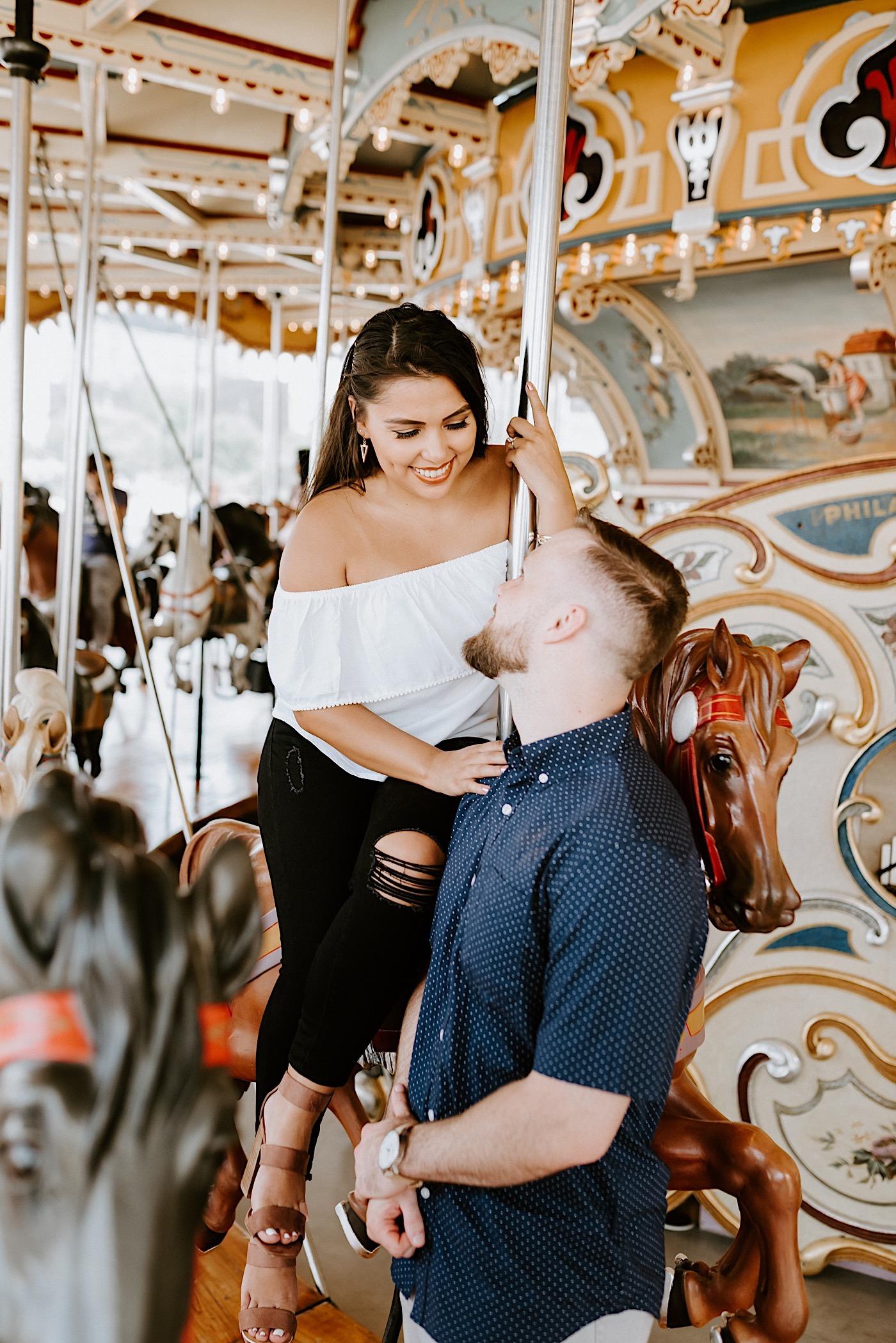 Dumbo Brooklyn Proposal Brooklyn Engagement Photos Brooklyn Wedding Photographer 007
