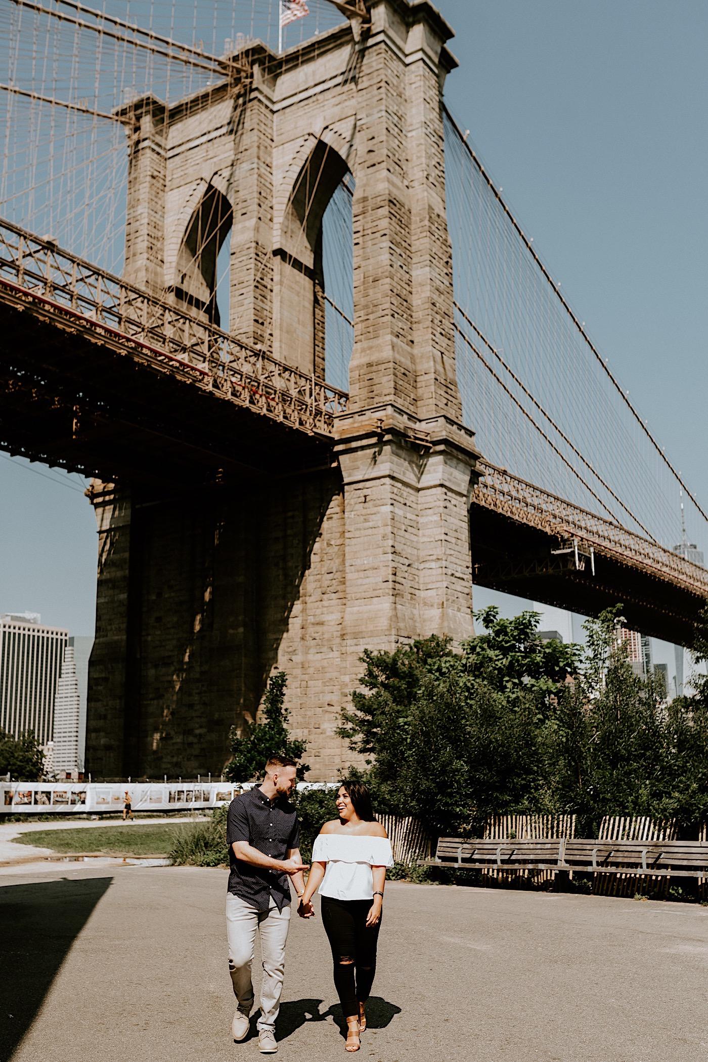 Dumbo Brooklyn Proposal Brooklyn Engagement Photos Brooklyn Wedding Photographer 012