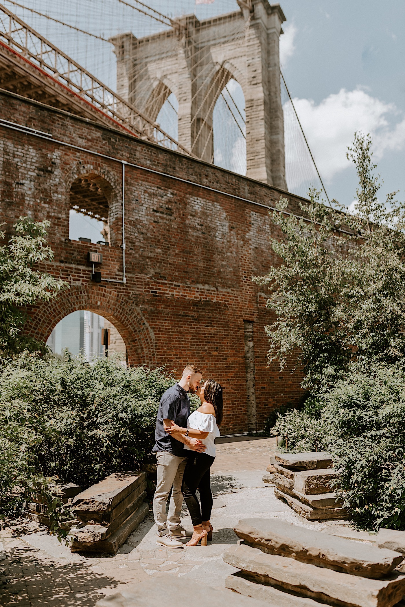 Dumbo Brooklyn Proposal Brooklyn Engagement Photos Brooklyn Wedding Photographer 016