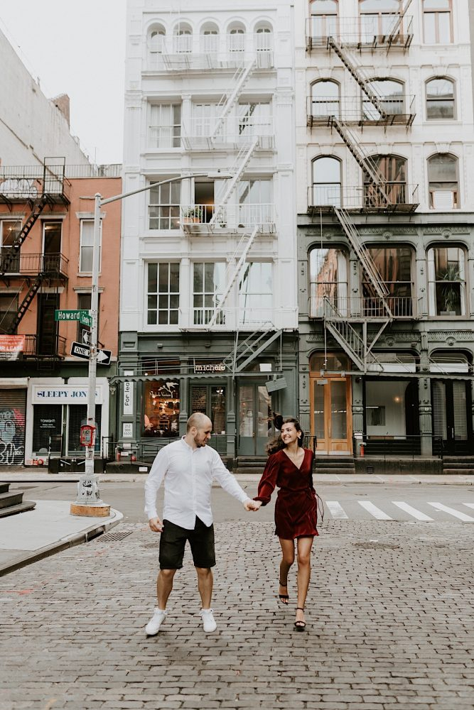 Soho Engagement Session NYC Wedding Photographer Manhattan Engaegement Locations 20