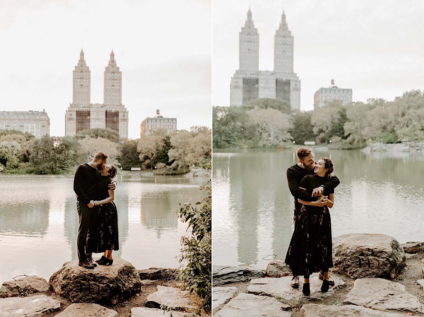 Bethesda Fountain Engagement Session NYC Engagement Photos New York Wedding Photographer 22