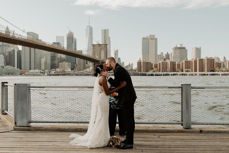 Brooklyn Dumbo Elopement NYC Wedding Photographer New York Elopement 28