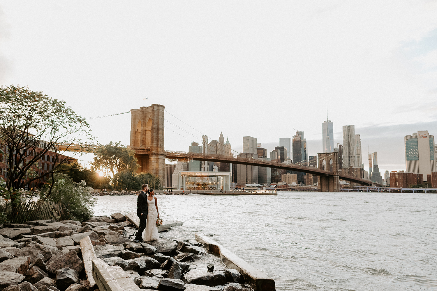 Brooklyn Dumbo Elopement New York Wedding Photographer Anais Possamai Photography