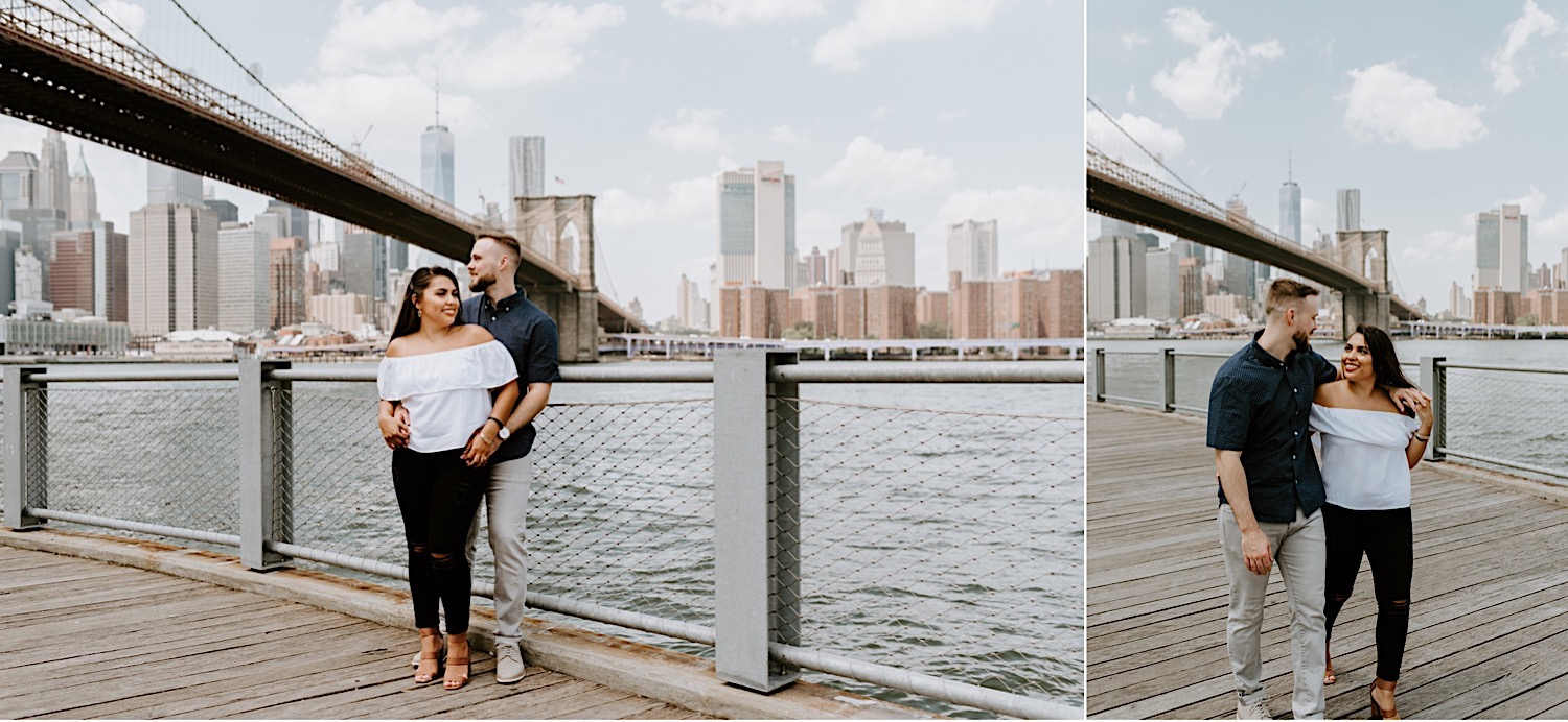Brooklyn Dumbo Engagement Session Brooklyn Wedding Photographer 06
