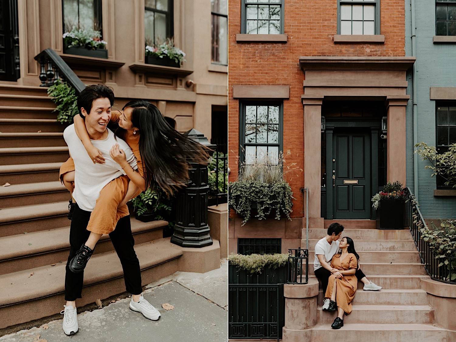 Brooklyn Heights Engagement Session Brooklyn Wedding Photographer 12