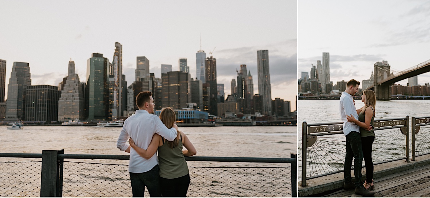 Brooklyn Heights Engagement Session Brooklyn Wedding Photographer 15