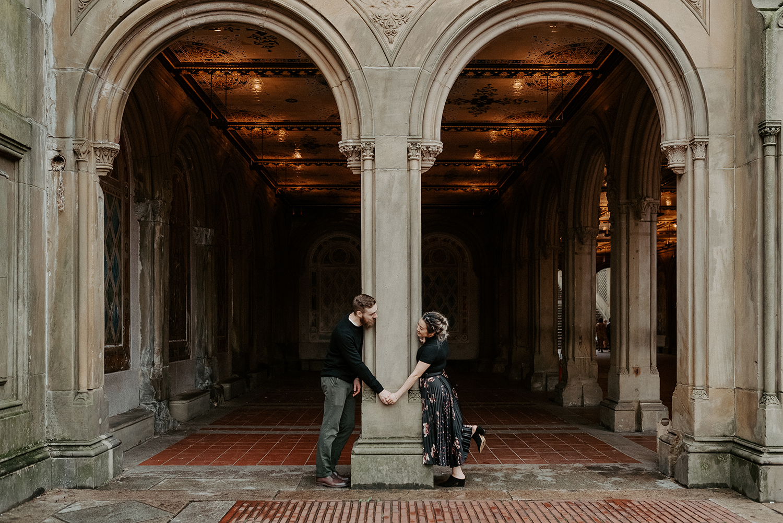 Central Park Enagement Session NYC Wedding Photographer