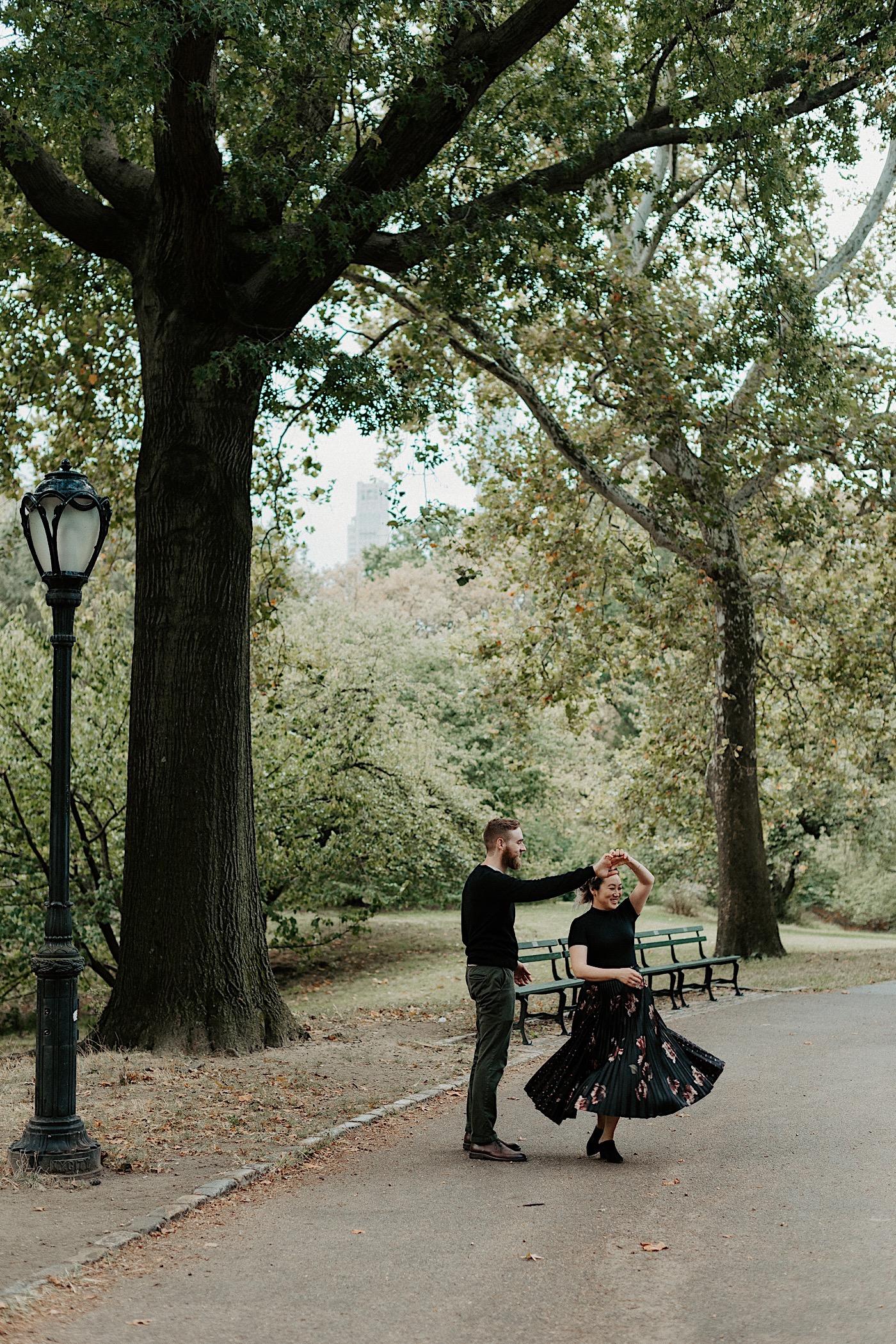Central Park Engagement Session New York Wedding Photographer 05