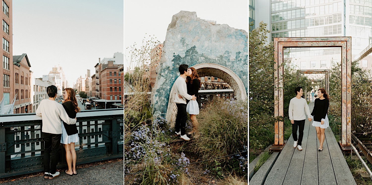 High Line Engagement Session NYC Top Locations For Engagement Session 27
