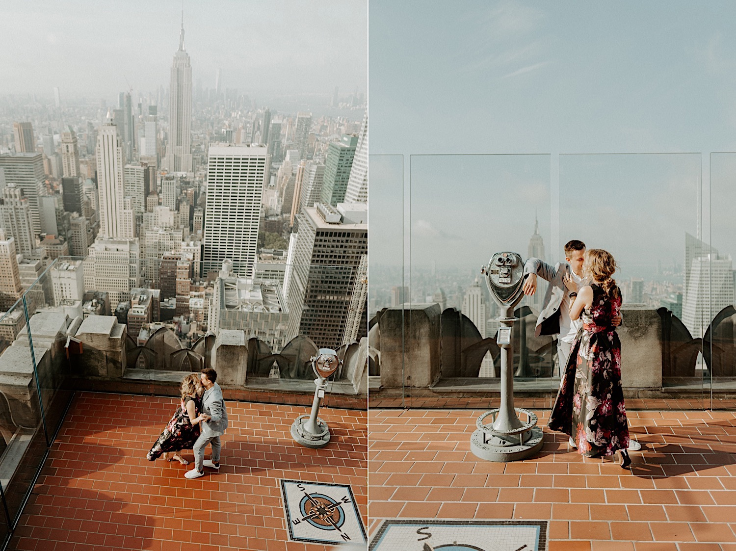 Top Of The Rock Engagement Session NYC Top Locations For Engagement Session New York Wedding Photographer 37