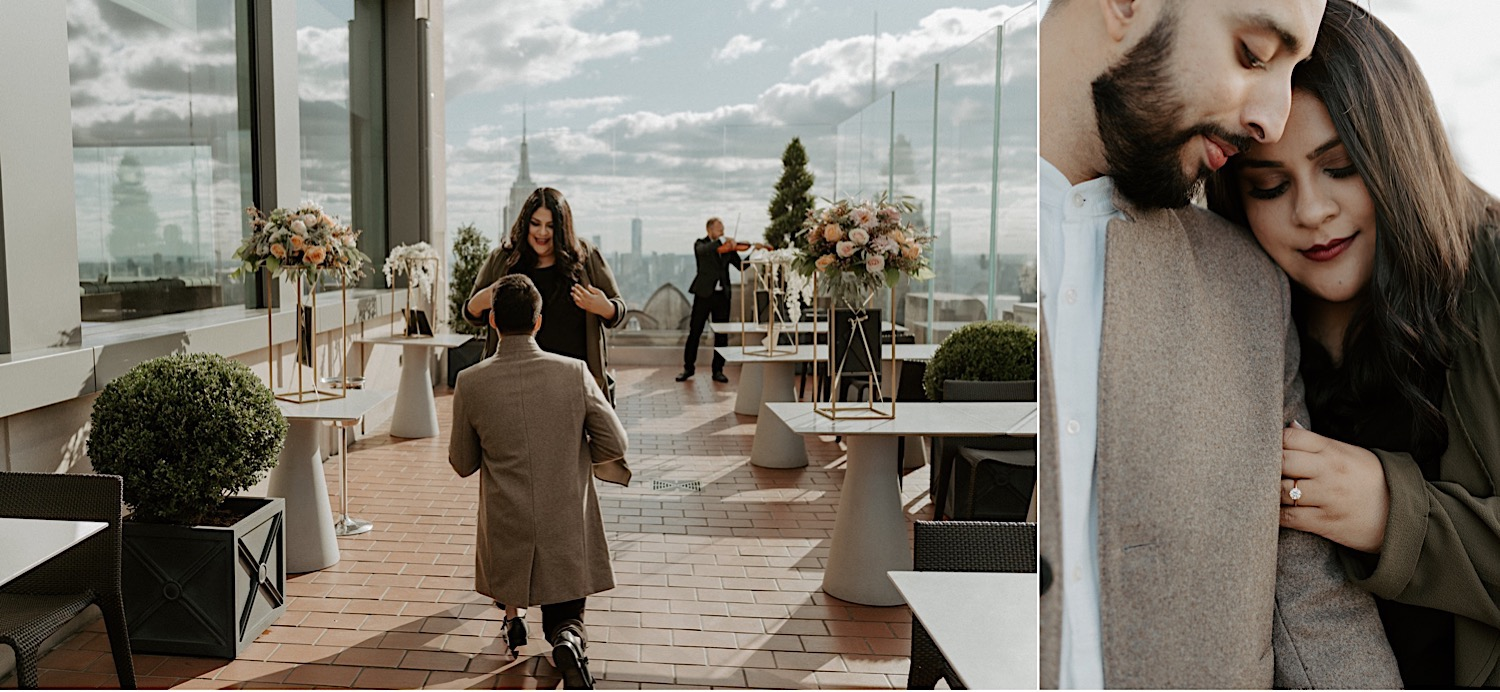 Top Of The Rock Engagement Session NYC Top Locations For Engagement Session New York Wedding Photographer 39