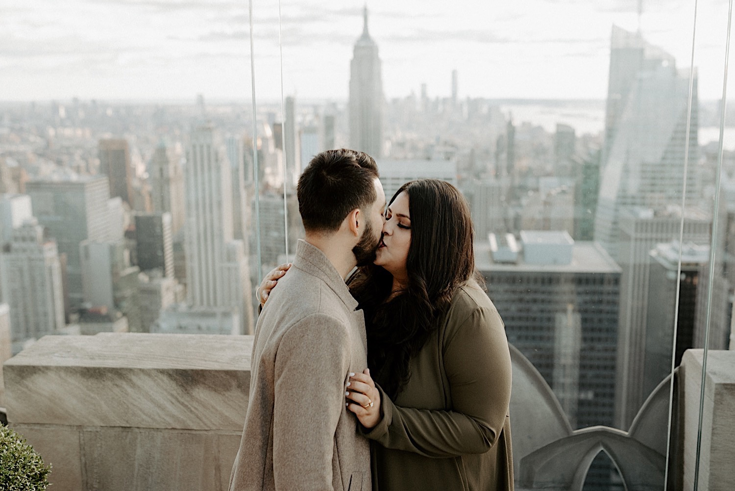 Top Of The Rock Engagement Session NYC Top Locations For Engagement Session New York Wedding Photographer 40