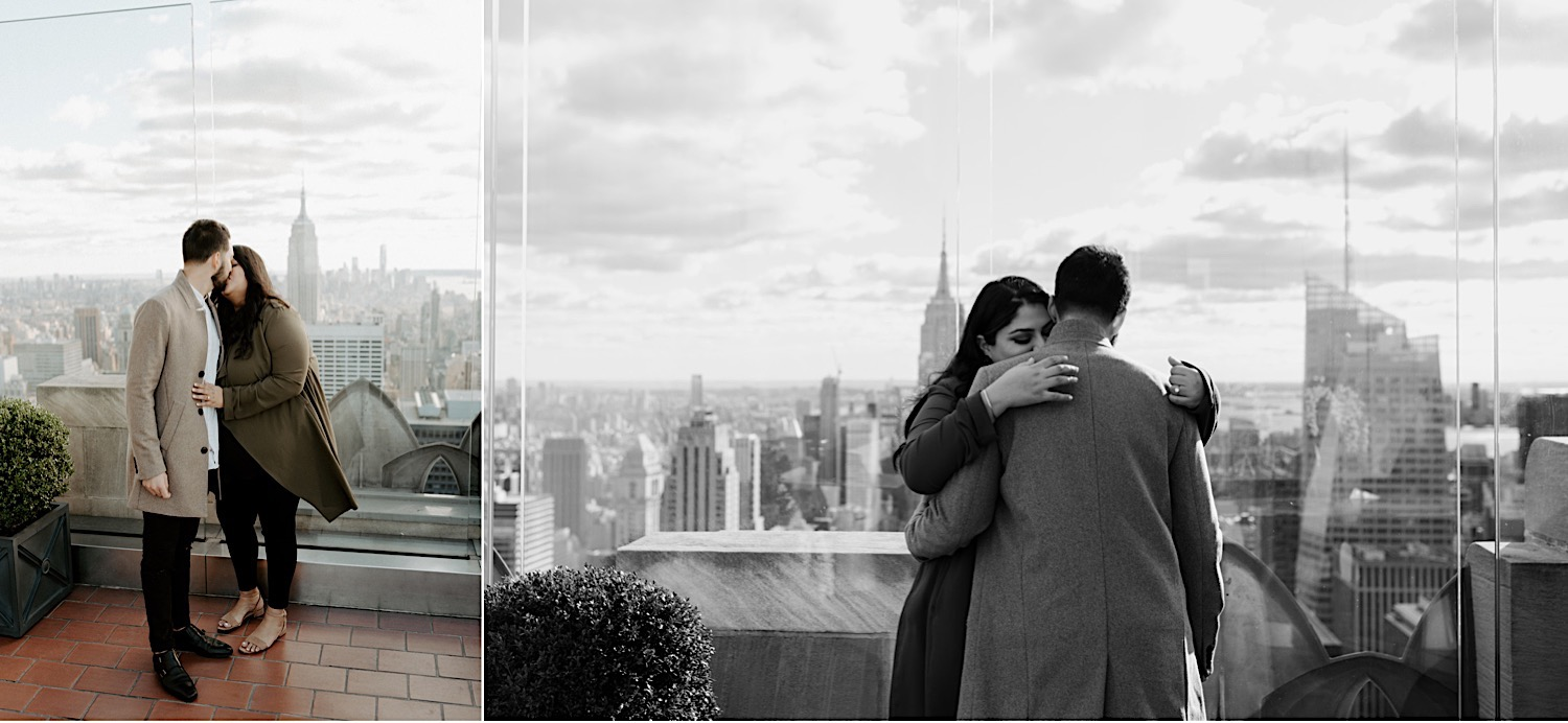Top Of The Rock Engagement Session NYC Top Locations For Engagement Session New York Wedding Photographer 41