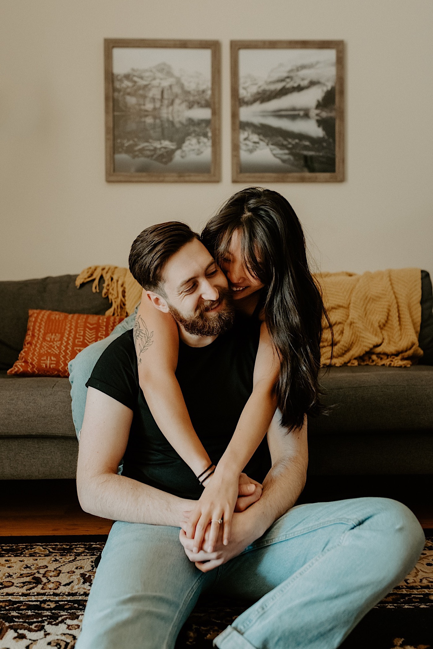 Brooklyn In Home Engagement Session NYC Wedding Photographer 02
