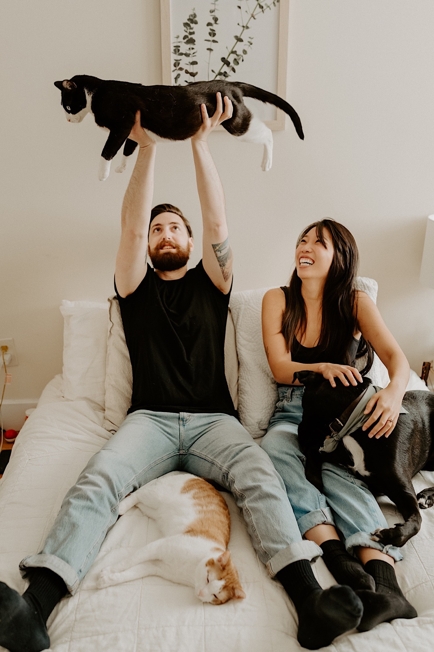 Brooklyn In Home Engagement Session NYC Wedding Photographer 13