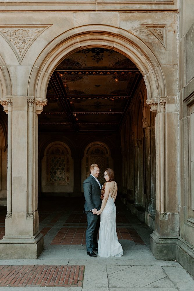 Bethesda Fountain Elopement, NYC wedding photographer, Central Park wedding