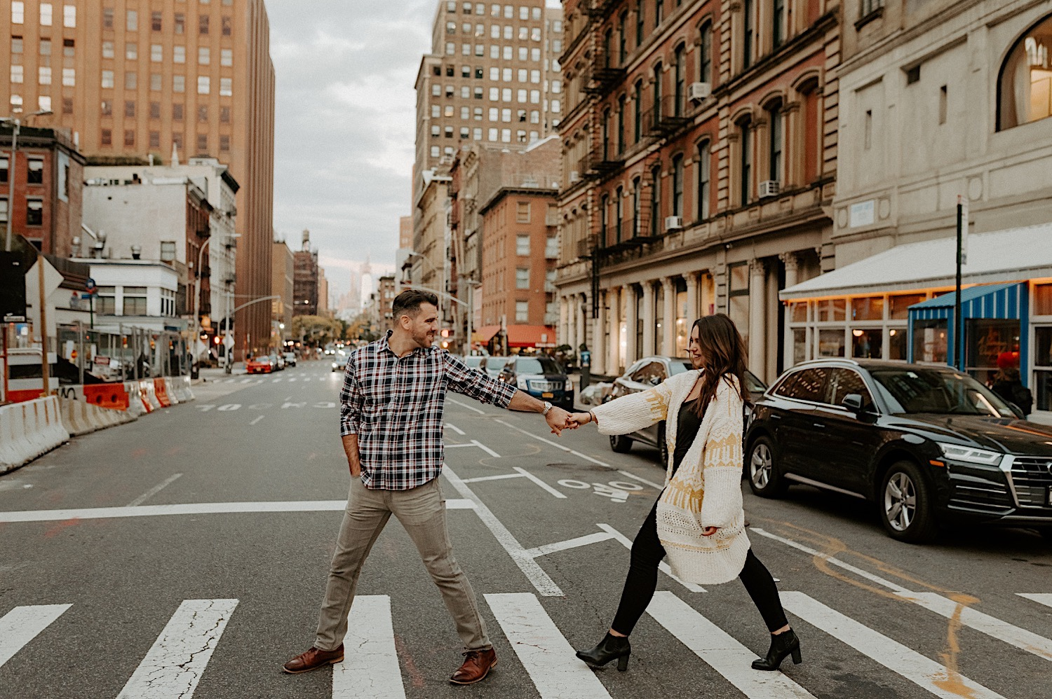 Downtown Manhattan Engagement Session NYC Engagement Photos New York Wedding Photographer 31