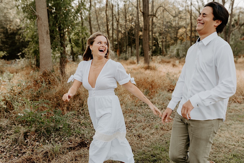 Fall Golden Field Enagement Session New Jersey Wedding Photographer 12