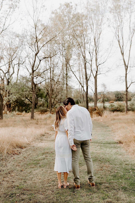 Fall Golden Field Enagement Session New Jersey Wedding Photographer 15