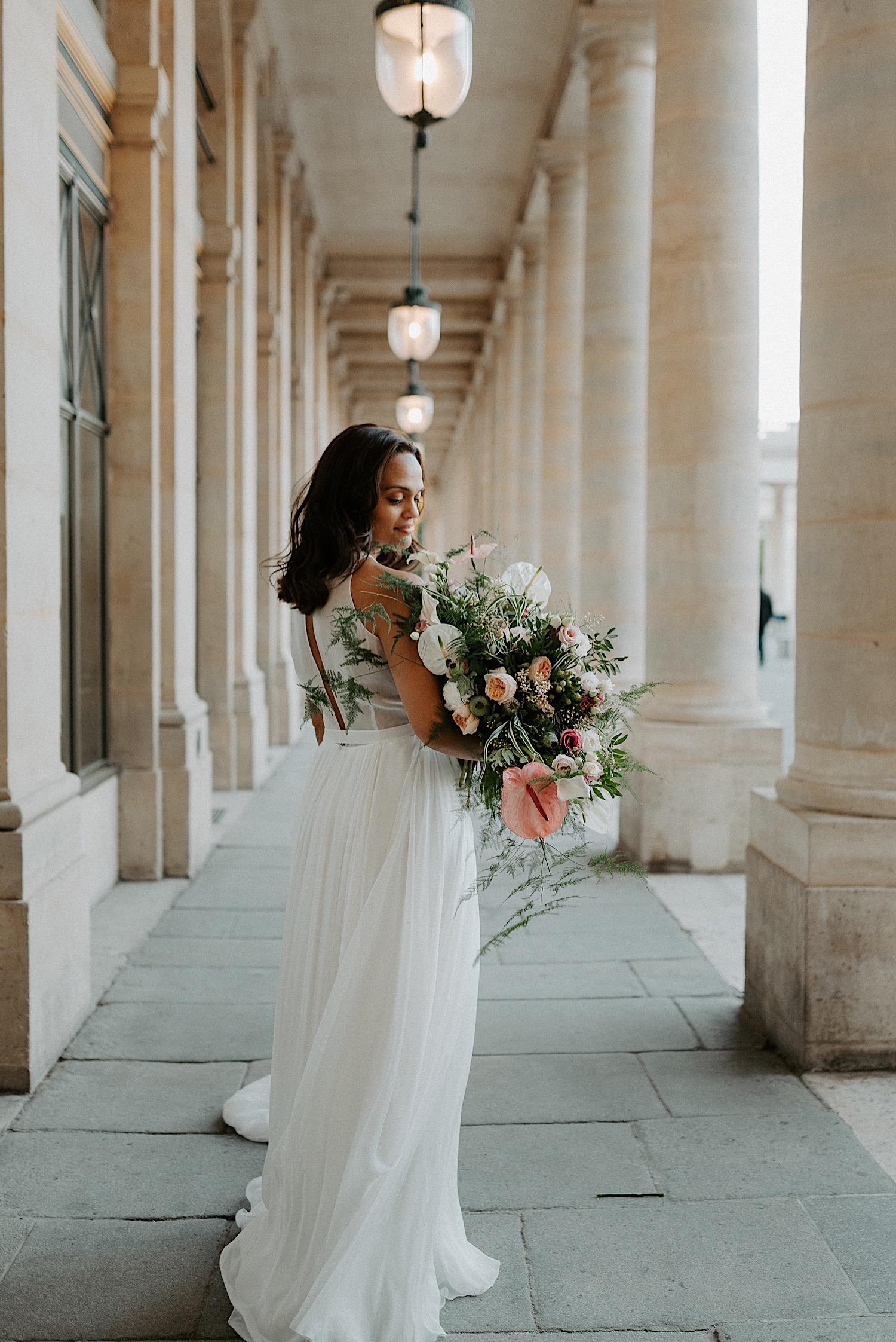 Paris Louvre Wedding Photos Paris Wedding Photographer Destination Wedding France Anais Possamai Photography 02