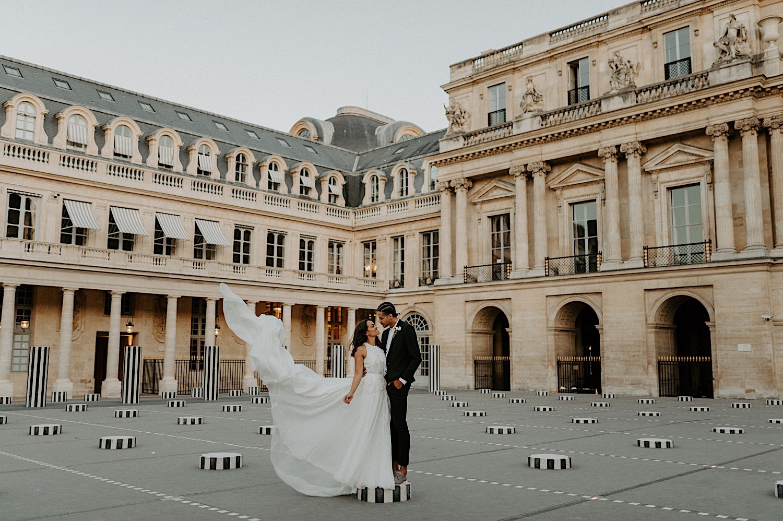 Paris Louvre Wedding Photos Paris Wedding Photographer Destination Wedding France Anais Possamai Photography 12