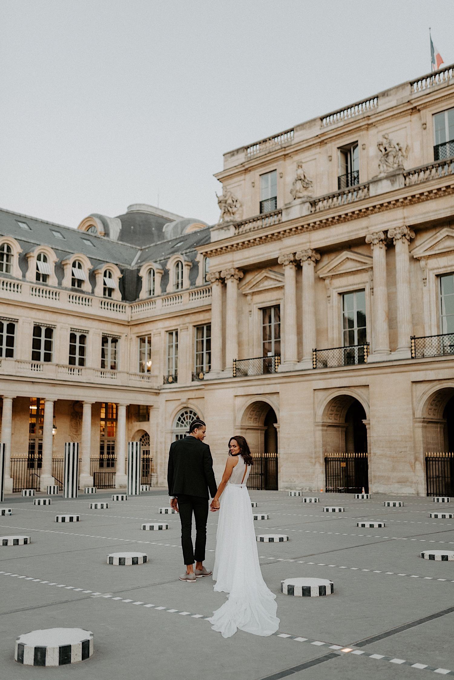 Paris Louvre Wedding Photos Paris Wedding Photographer Destination Wedding France Anais Possamai Photography 15
