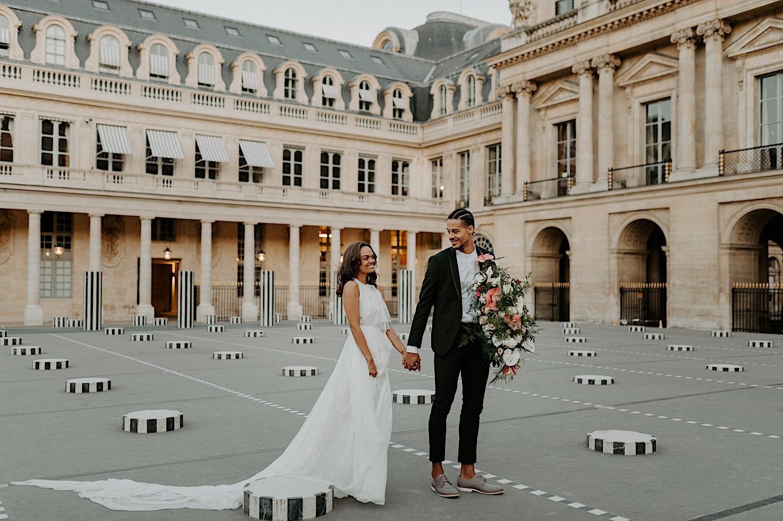 Paris Louvre Wedding Photos Paris Wedding Photographer Destination Wedding France Anais Possamai Photography 18