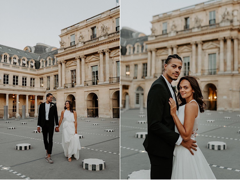 Paris Louvre Wedding Photos Paris Wedding Photographer Destination Wedding France Anais Possamai Photography 22