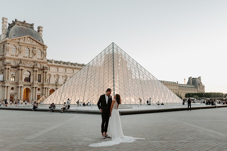 Paris Louvre Wedding Photos Paris Wedding Photographer Destination Wedding France Anais Possamai Photography 24