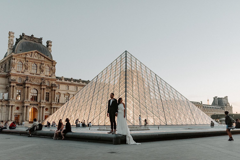 Paris Louvre Wedding Photos Paris Wedding Photographer Destination Wedding France Anais Possamai Photography 26