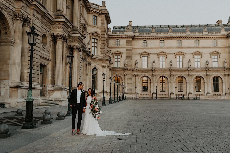Paris Louvre Wedding Photos Paris Wedding Photographer Destination Wedding France Anais Possamai Photography 30