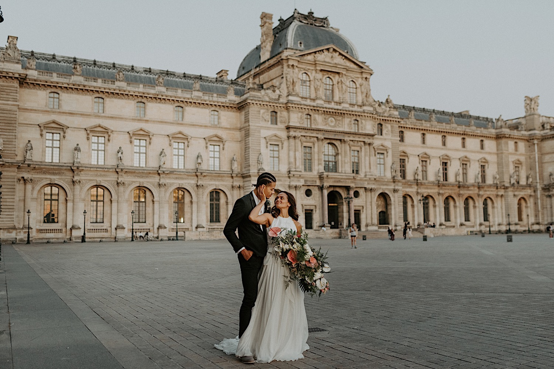 Paris Louvre Wedding Photos Paris Wedding Photographer Destination Wedding France Anais Possamai Photography 31