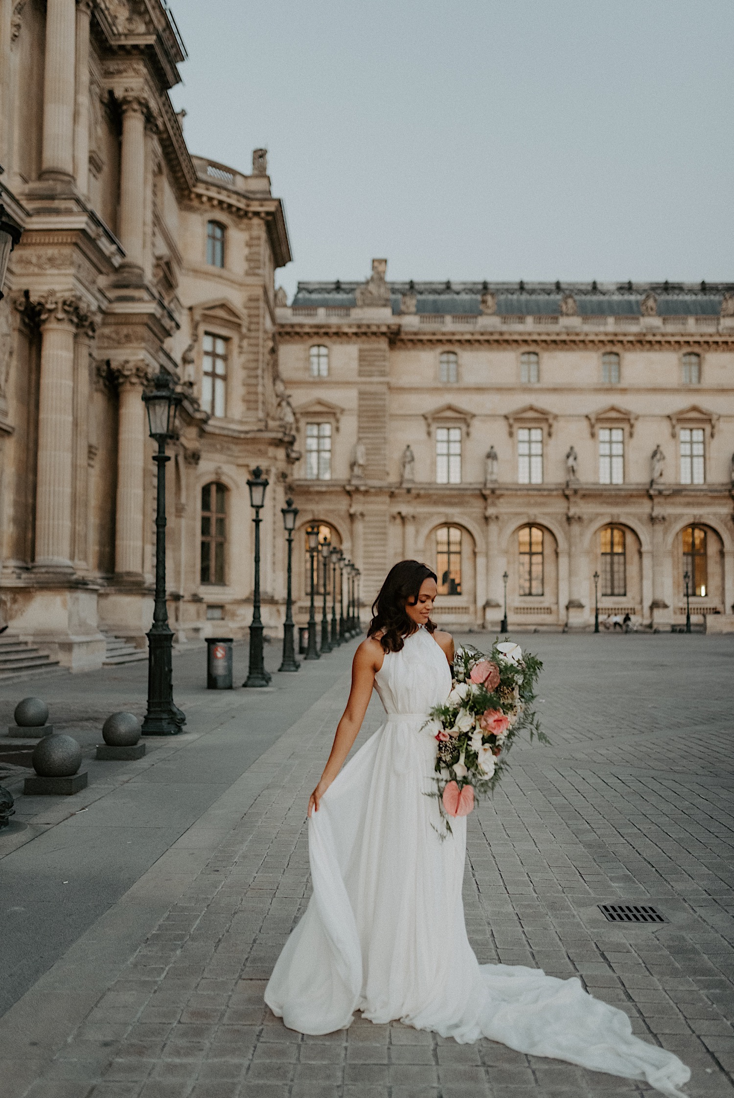 Paris Louvre Wedding Photos Paris Wedding Photographer Destination Wedding France Anais Possamai Photography 34