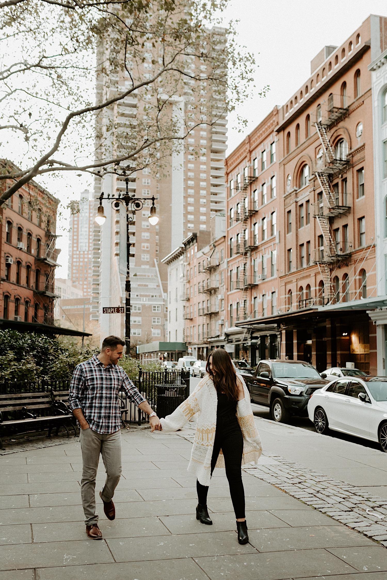 Tribeca Engagement Session NYC Engagement Photos New York Wedding Photographer 16