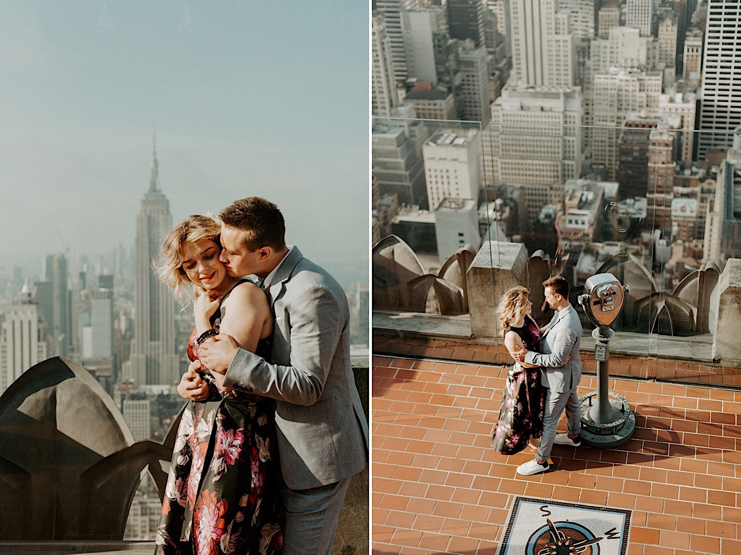 019 Top Of The Rock Engagement Photos NYC Engagement New York Wedding Photographer