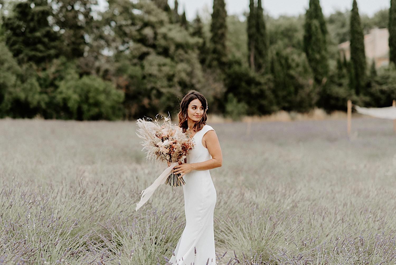 032 Terre Ugo Wedding Provence Wedding Destination Wedding France Provence Wedding Photographer Lavender Field Wedding Photos