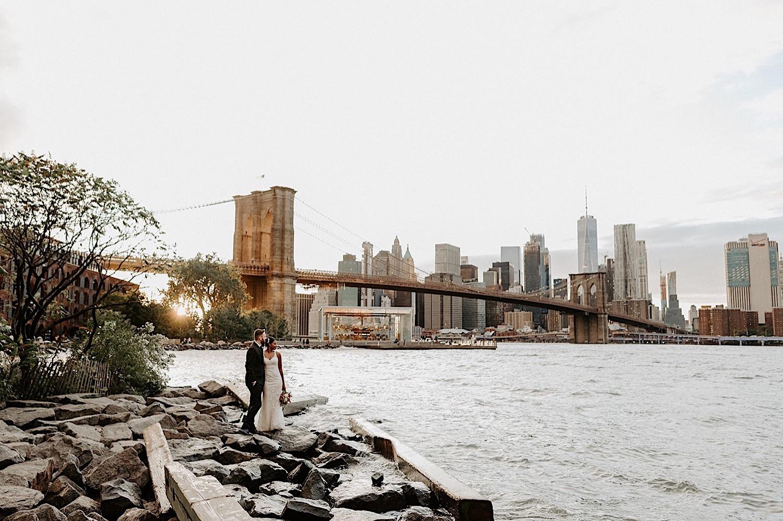 044 Brooklyn Dumbo Elopement Brooklyn Wedding Photographer NYC Wedding Destination Elopement