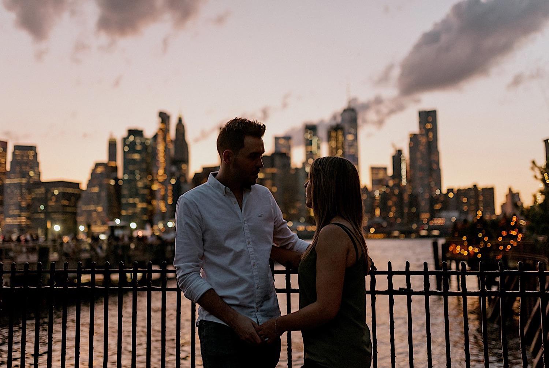 052 Brooklyn Bridge Engagement Photos Brooklyn Engagement Session NYC Wedding Photographer Engagement Ring