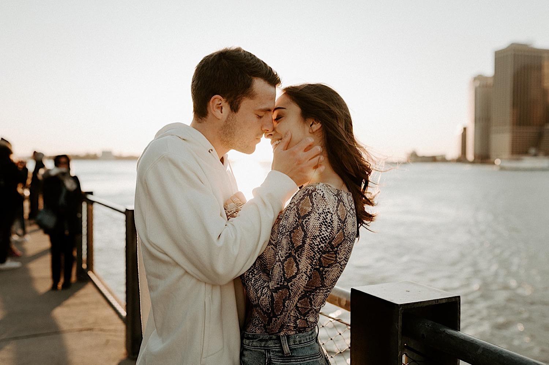 067 Brooklyn Bridge Engagement Photos Brooklyn Engagement Session NYC Wedding Photographer Pebble Beach Dumbo